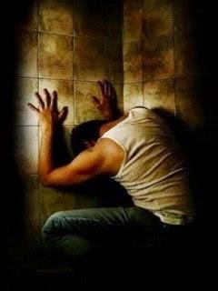 homem sozinho - homem solitário - o diálogo de um condenado