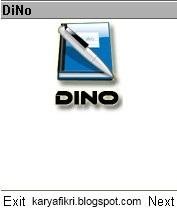 dino (aplikasi untuk menulis diary di hp java)