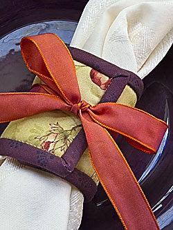 Erin Winfree's napkin ring