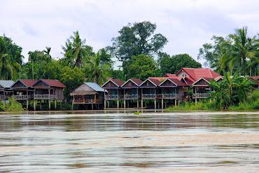 L'île de Khon Don (Si Phan Don, Laos)