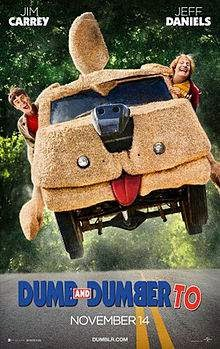 Dumb and Dumber To (2014) English Movie Poster