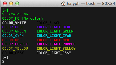 Also Command Ls La Should Produce Colored Output