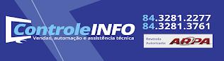 CONTROLE INFORMÁTICA - NOVA CRUZ/RN (84) 3281 2277 - 3761