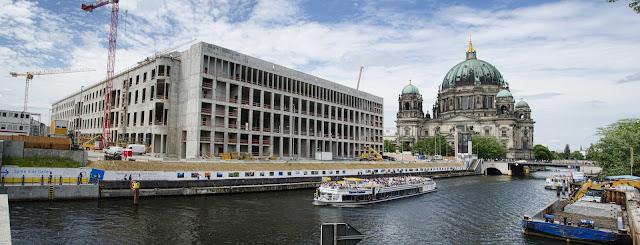 Baustelle Berliner Schloss, Panorama, Stadtschloss, Schlossplatz, 10178 Berlin, 02.06.2015