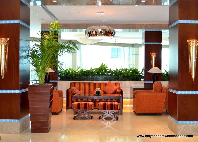 lobby at Oceanic Khorfakkan Resort and Spa