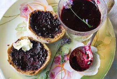 Wild berry lavender jam
