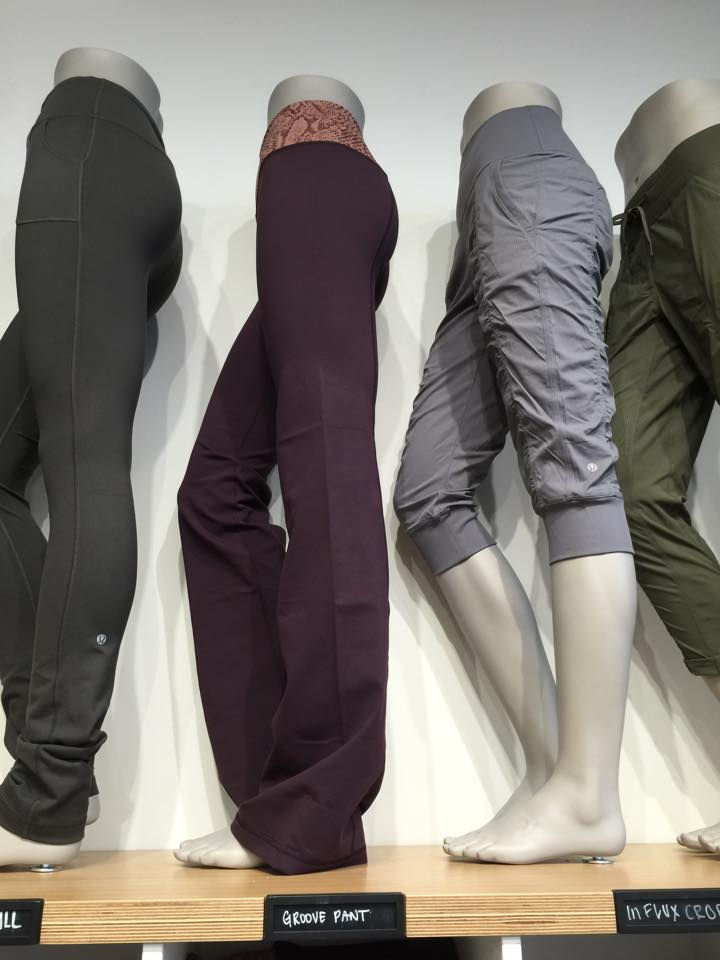 lululemon black cherry groove 2.0