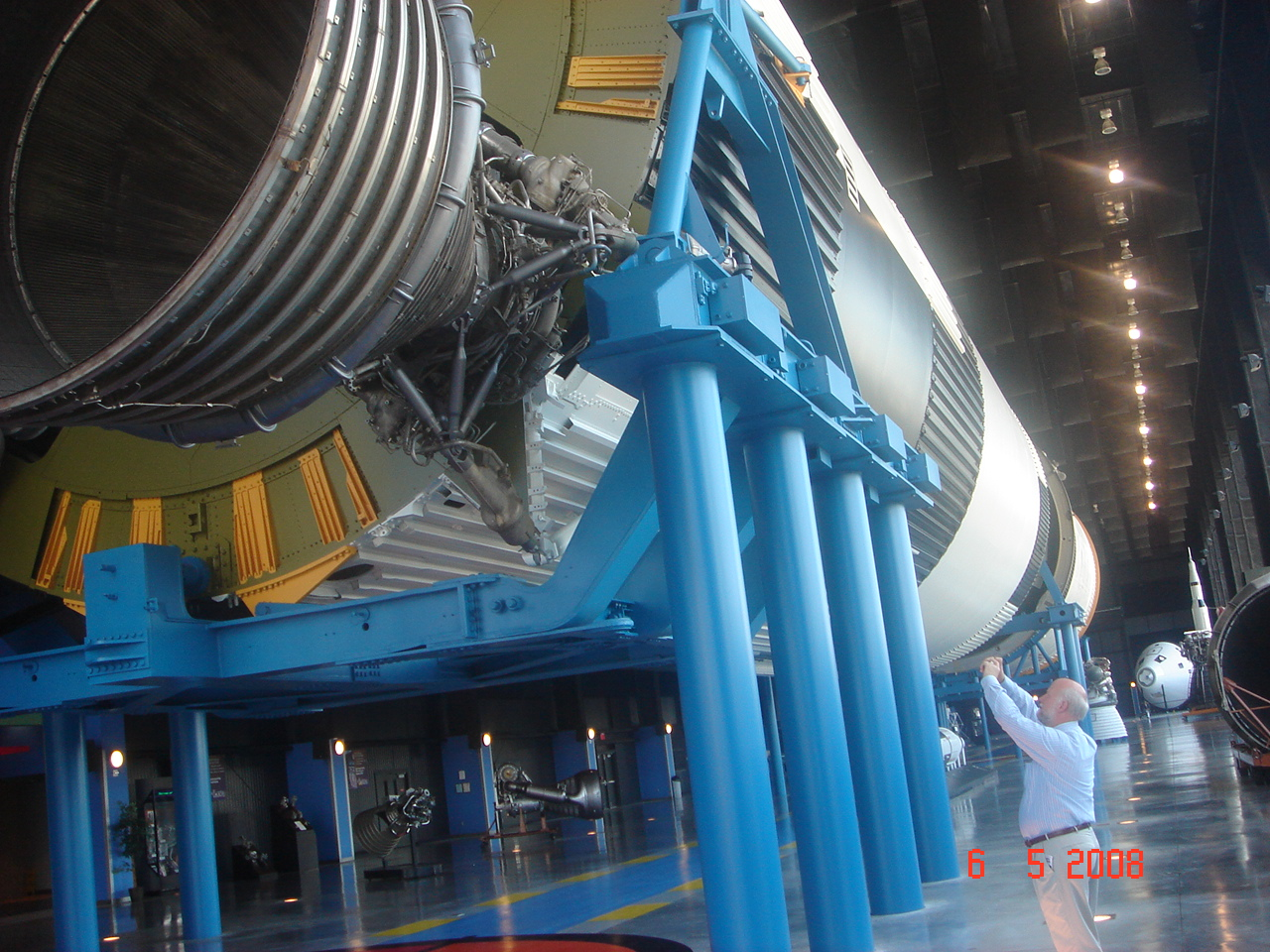 SaturnV Apollo Vehicle at Huntsville,USA