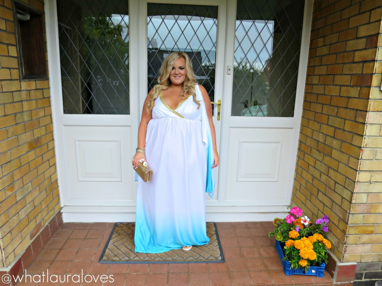 Whatlaurawore Greek Goddess Plus Size Fancy Dress What Laura Loves