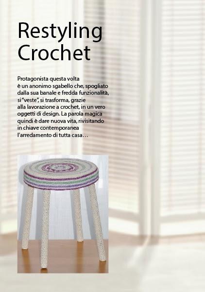 PUBBLICAZIONI: Scheda tecnica (15 pagg. in formato pdf) RESTYLING CROCHET