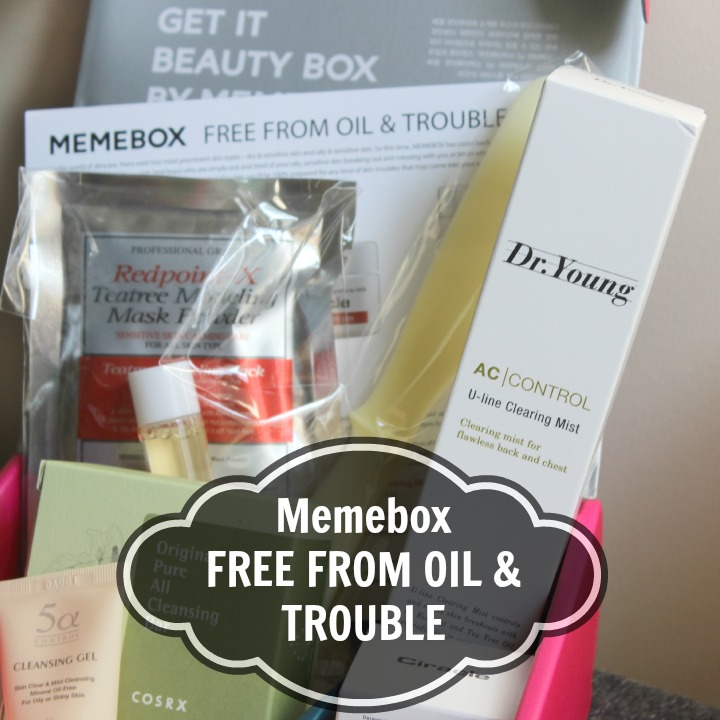 Memebox Free From Oil & Troubles Unboxing Review