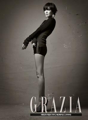 Kim So Yeon - Grazia Magazine November Issue 2013