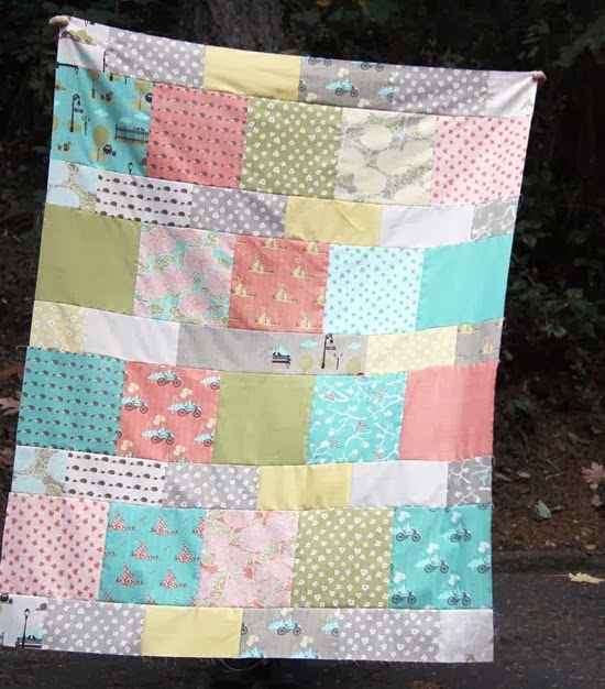 oLiE & EviE: Lemonade Layer Cake Quilt - Free Pattern