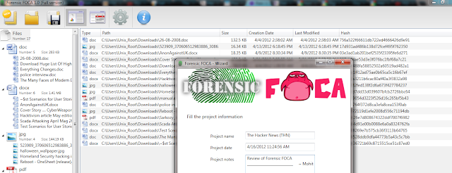 Forensic+FOCA+-+Power+of+Metadata+in+digital+forensics