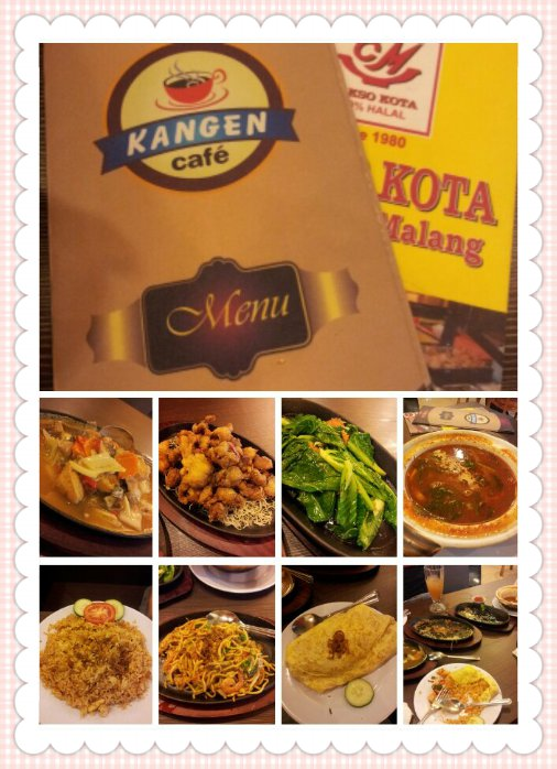 Our lunch at Kangen Cafe, Nagoya Hill Mall, Batam