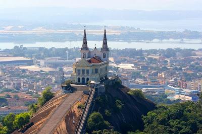 City tour Rio de Janeiro vista aérea da Igreja da Penha