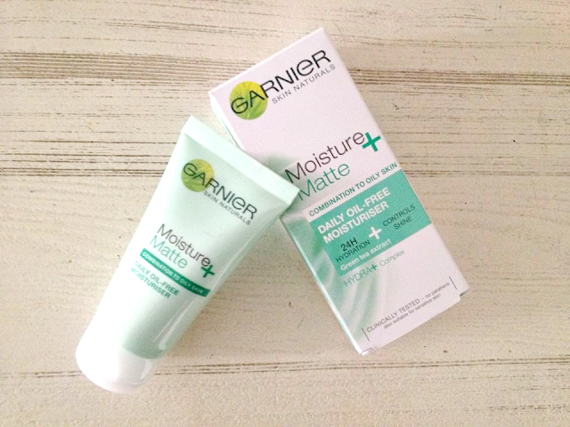 Current Skin Care Favourites | Basics | Garnier Micellar Cleansing Water | Elizabeth Arden Brightening Eye Gel | Garnier Moisture + Matte Daily Oil-Free Moisturiser