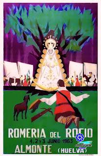 Romería del Rocío 1963 - Hermandad de Almonte - M Flores