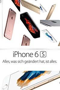 iPhone 6s Verkauf in München - Apple-Retail-Store Marienplatz am 25.09.2015