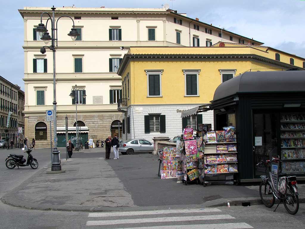 Piazza Cavour, Livorno