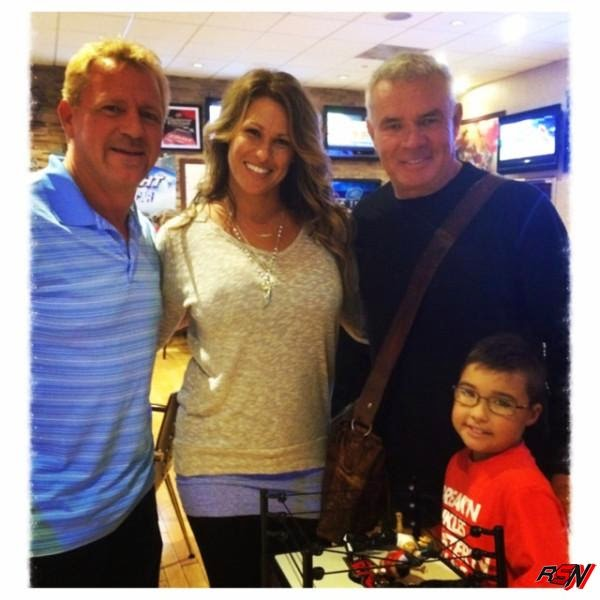 Jeff Jarrett Catching Up with Eric Bischoff.