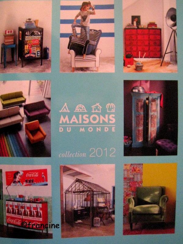 Francine bricole i love america en d coupage collage - Maison du monde catalogue ...