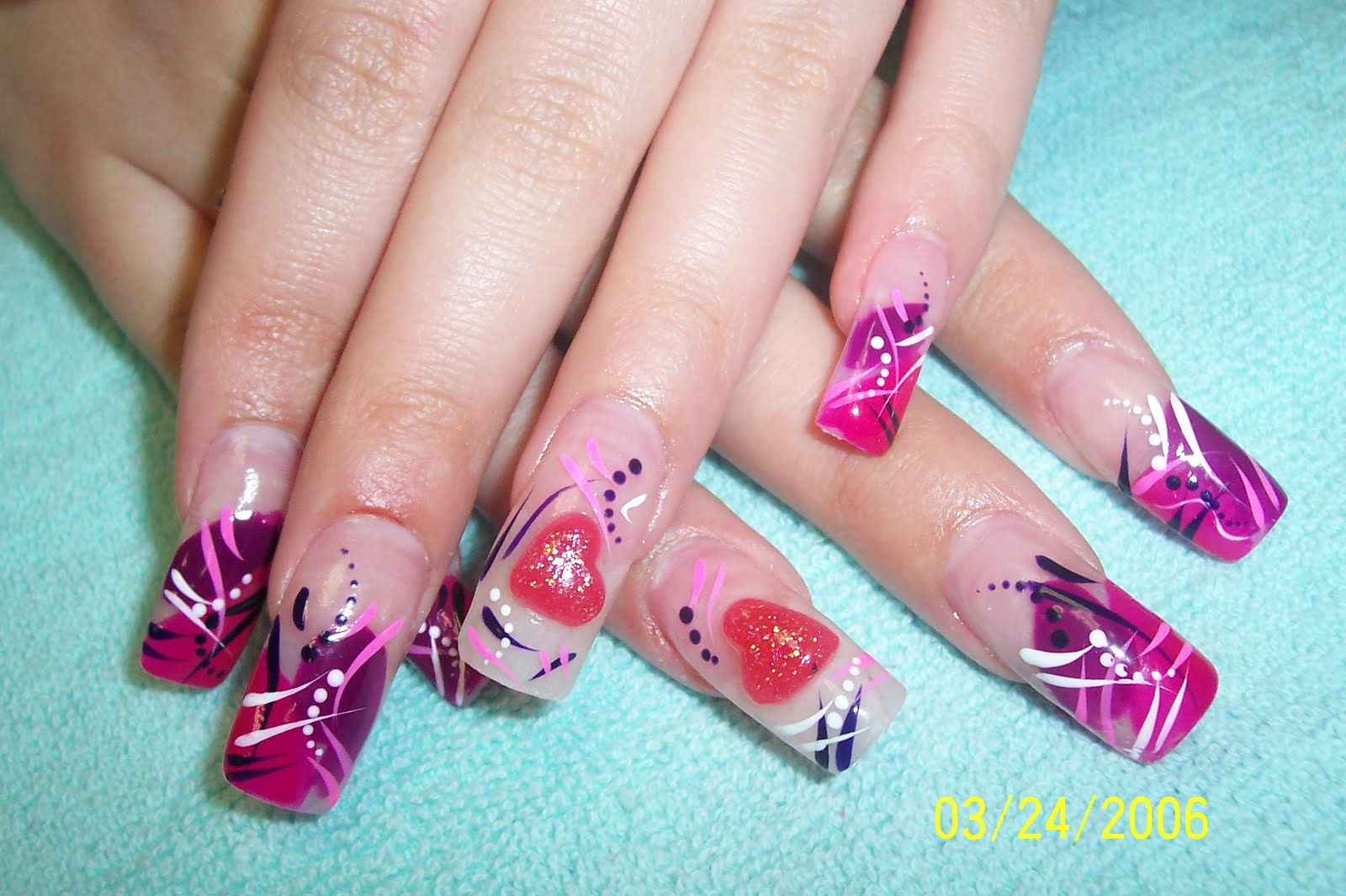 Most Popular Videos How To Applying Nail Art Video Training