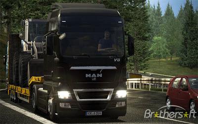 Racing Game German Truck Simulator PC Download img