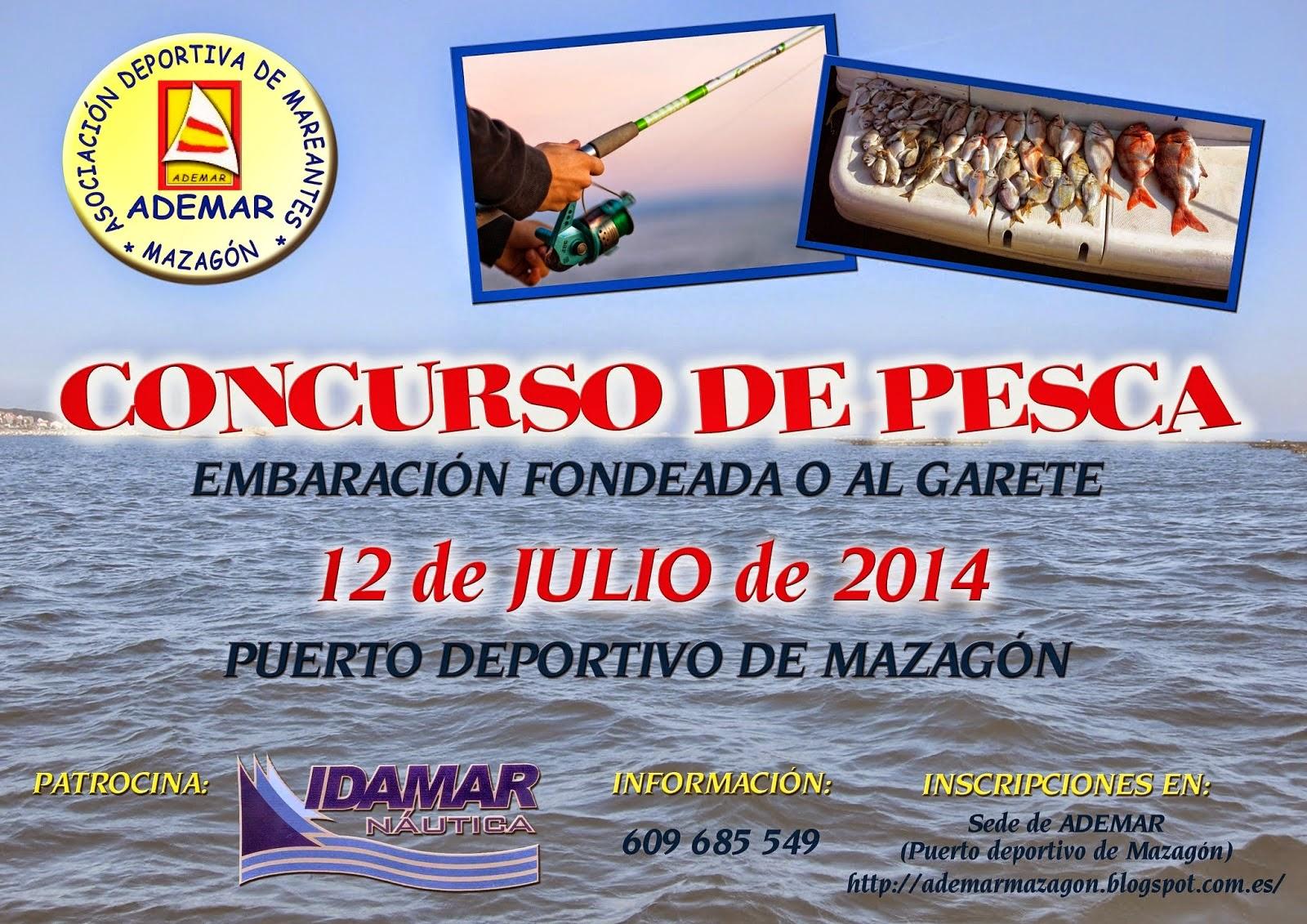 Concurso de Pesca Embarcacion Fondeada