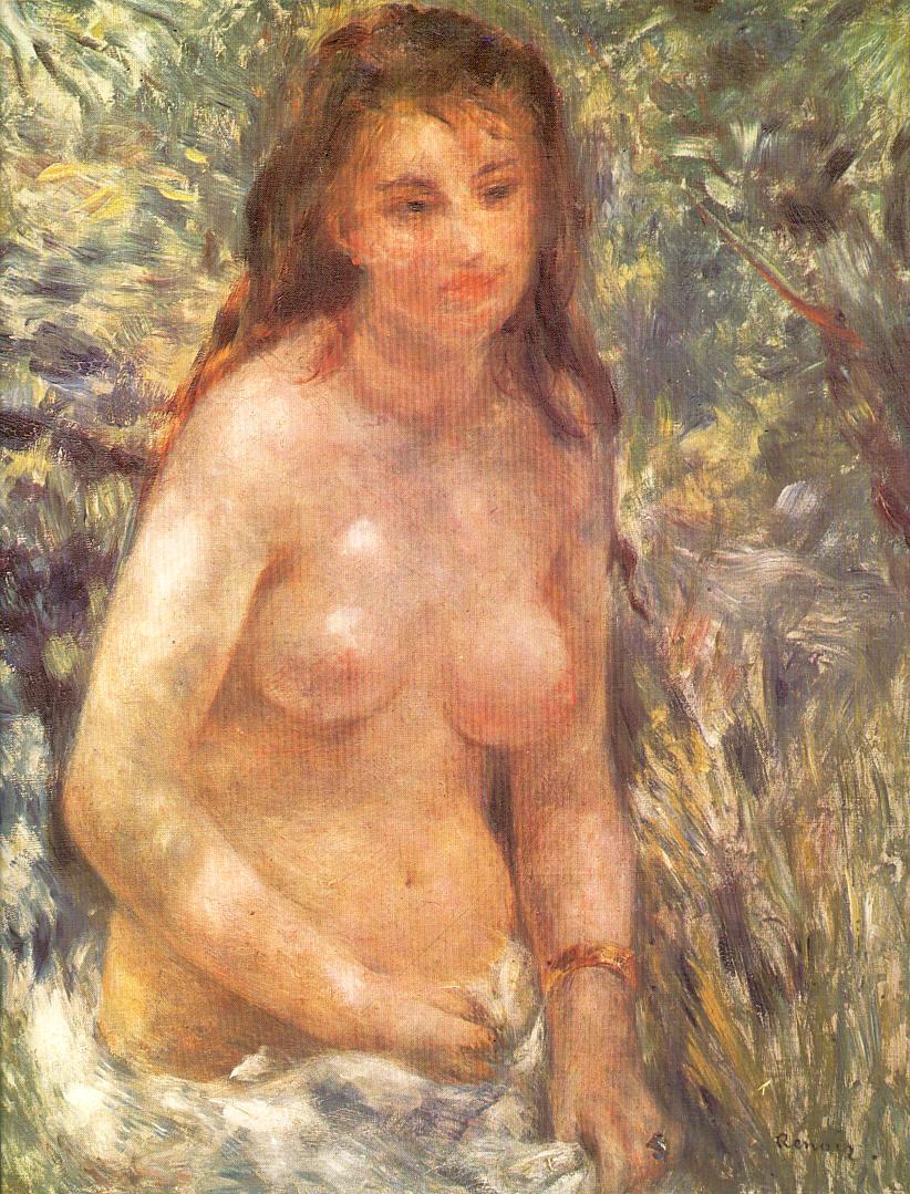 El sol amapola desnudo