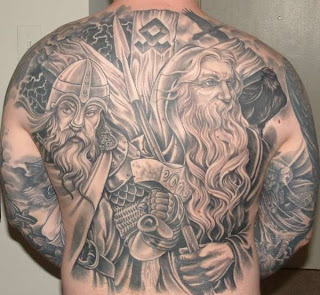 odin and thor tattoos