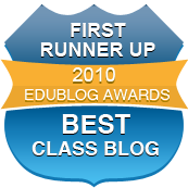 Best Class Blog First Runner Up