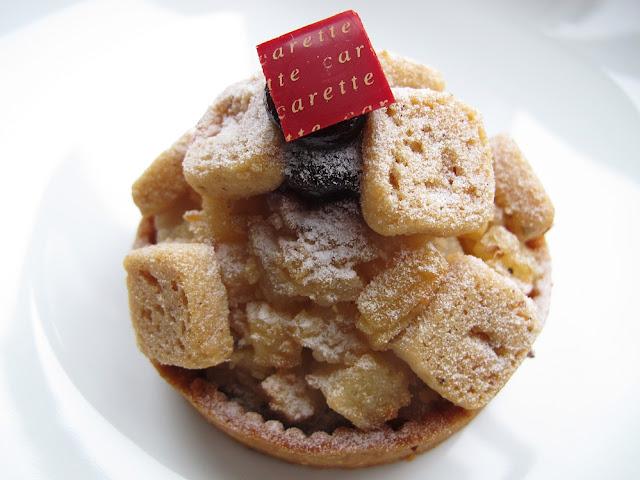 Pâtisserie Carette - Tarte violine poire-cassis