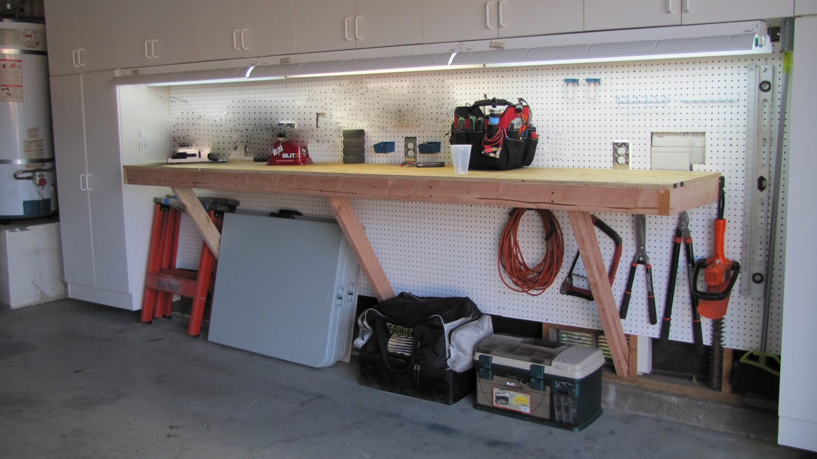 Adventures In Diy Garage Workbench