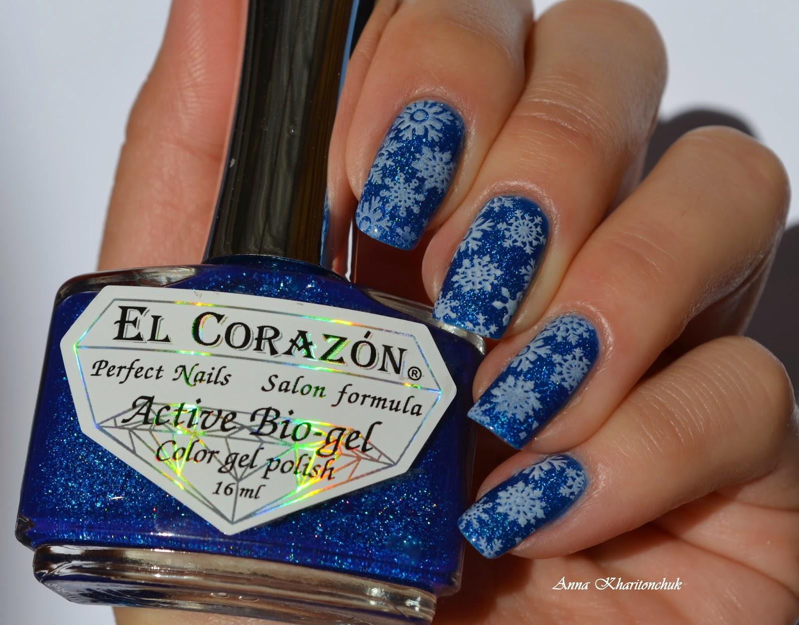 """Творческий конкурс EL Corazon + палеты для стемпинга XXL Big. Этап """"Снежность"""""""