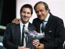 Messi elegido mejor jugador de Europa