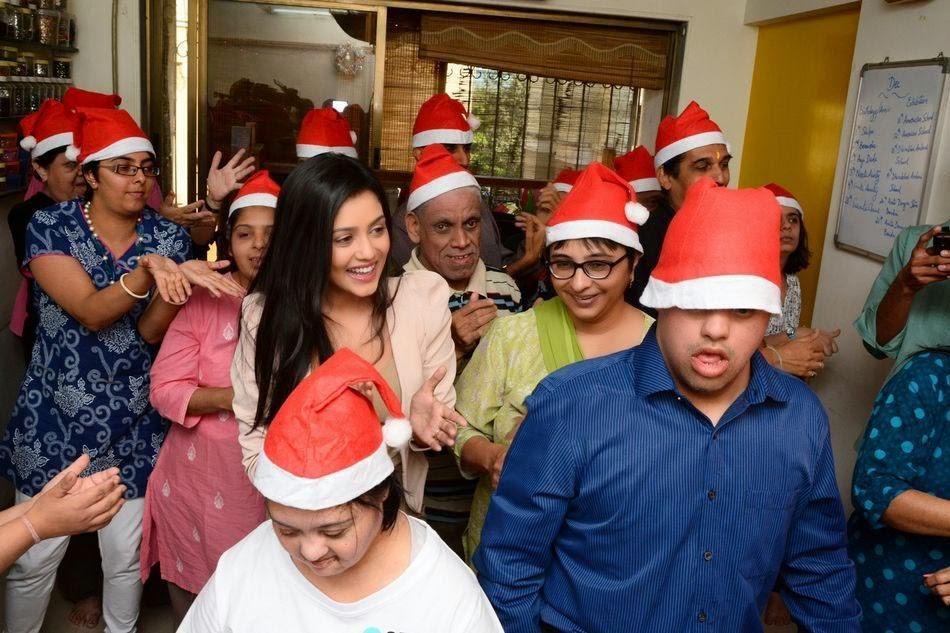 Mishti Chakraborty Christmas Celebration Photos