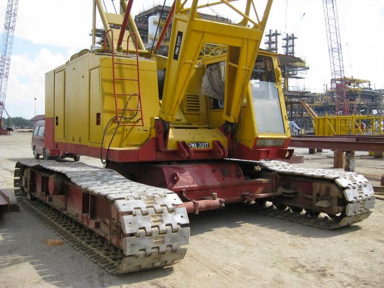 Rough Terrain Crane Wikipedia : Sumitomo ls rm hydraulic crawler crane ton cranepedia