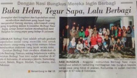 Komunitas Berbagi Nasi Yogyakarta