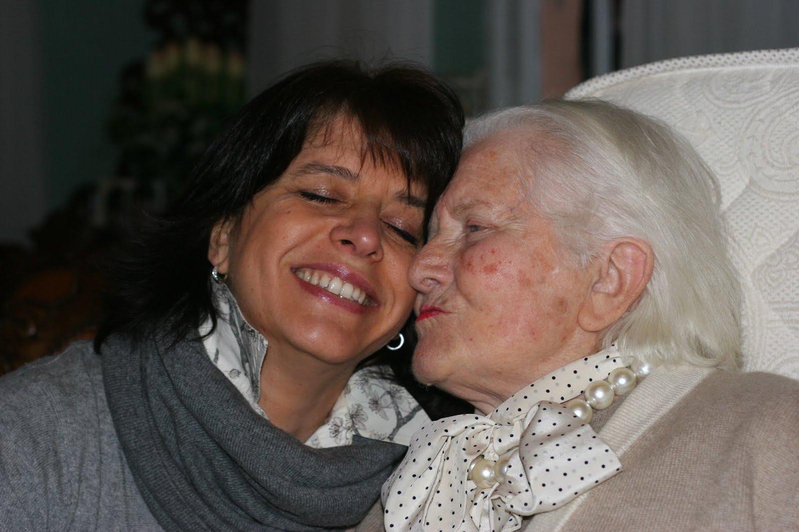 La mia nonna Gina ed io.