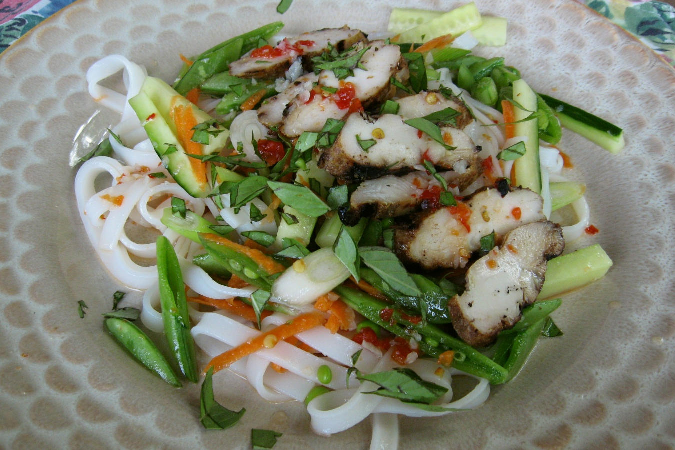 The Days Are Just Packed!: Thai Grilled Chicken Noodle Salad