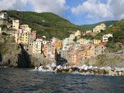 Cinque Terre, Itália (cinque terre riomaggiore)
