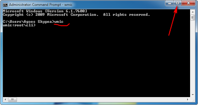 Cara Membuat Full Screen Command Prompt (Windows 7)