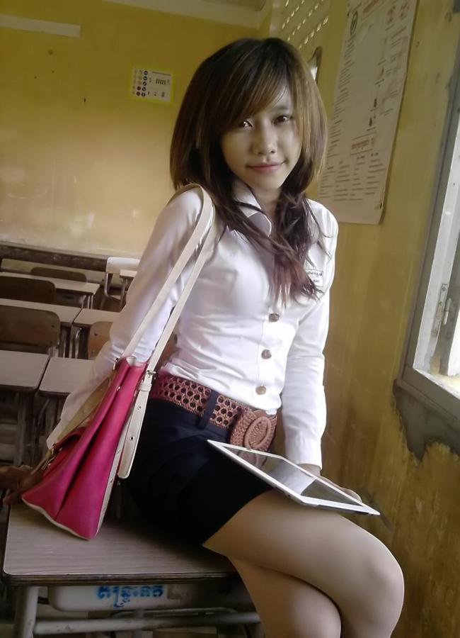 sex khmer school girl
