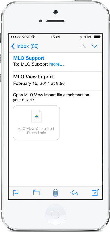 how to add attachment to email on iphone 6