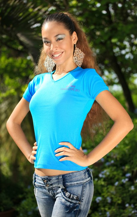 miss international guadeloupe 2011 winner frederique grainville