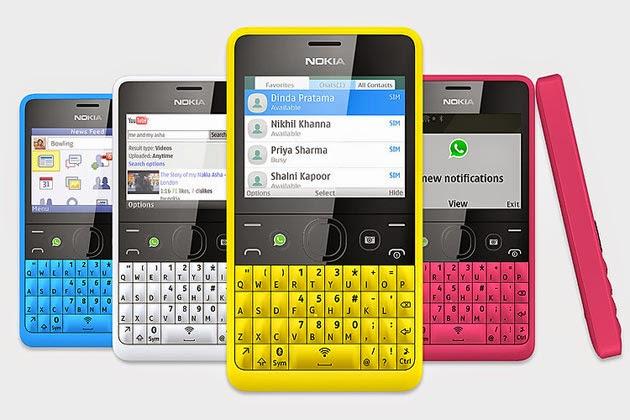Harga Nokia Asha 210 Terbaru 2014