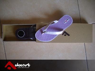 Sandal Kertas Daur Ulang 8
