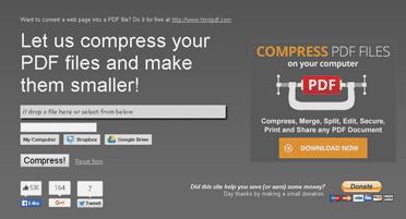 cara compress pdf offline