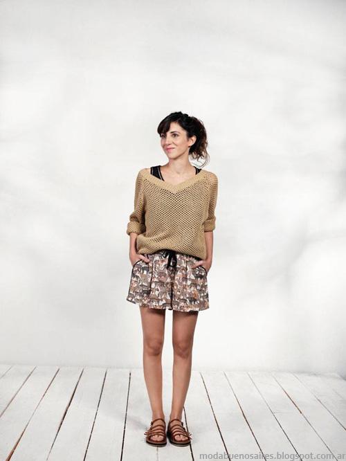 Ver sweaters primavera verano 2014. Moda verano 2014.